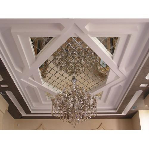 Зеркальное панно на потолок